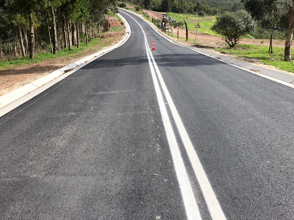Reabilitação da estrada da Floresta