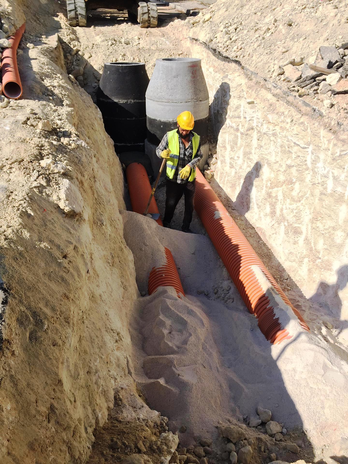Remodelação da Rede Abastecimento Água e Saneamento